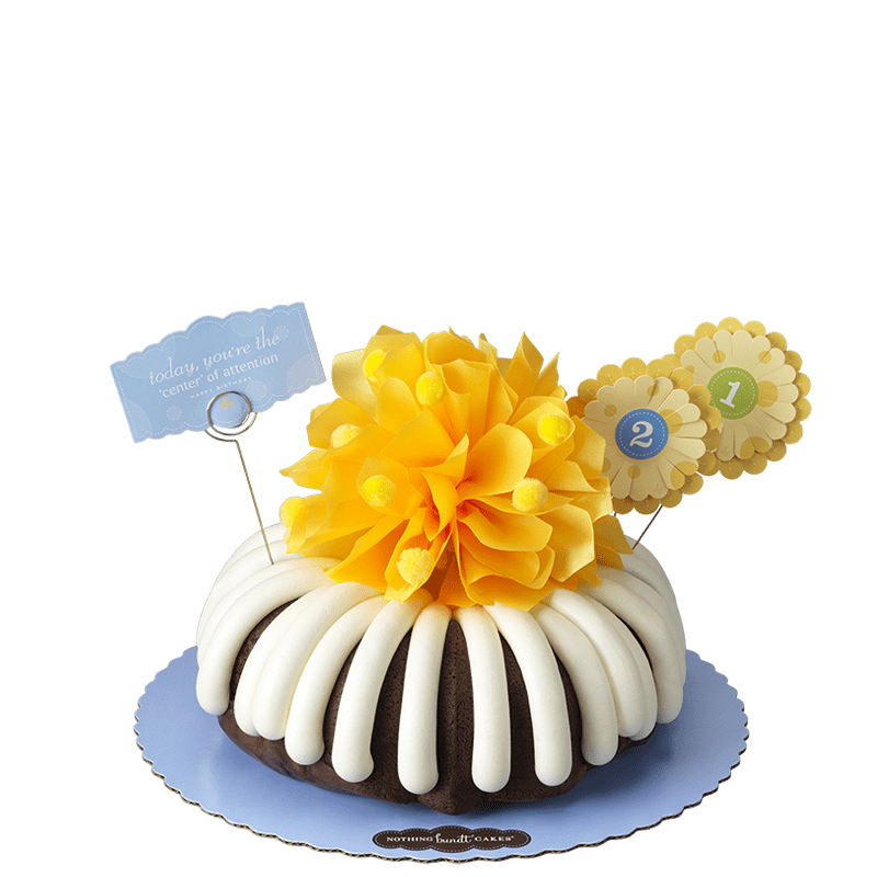 Today, You're The 'Center' of Attention Bundt Cake