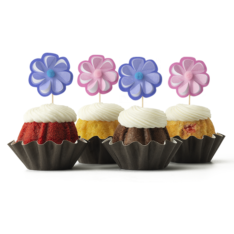 Flowers for Mom Bundt Cake