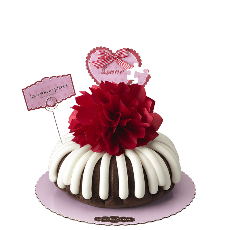 Love You to Pieces Bundt Cake