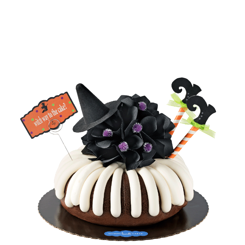 Witch Way to the Cake? Bundt Cake