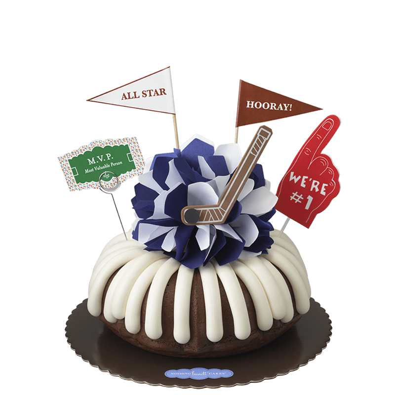 MVP - Hockey Bundt Cake