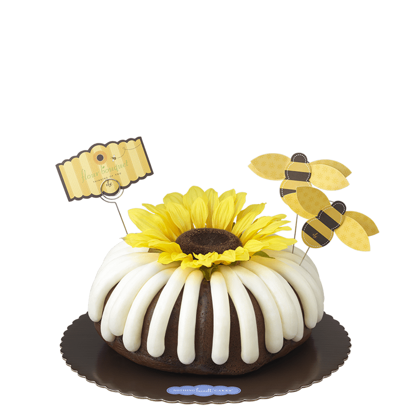 Flour Bouquet Bundt Cake