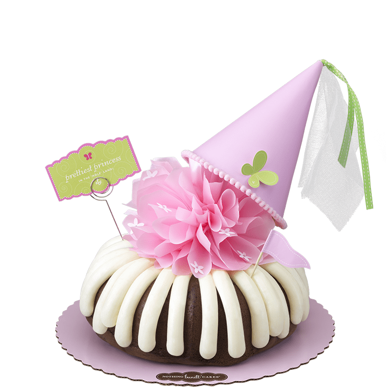 Prettiest Princess Bundt Cake
