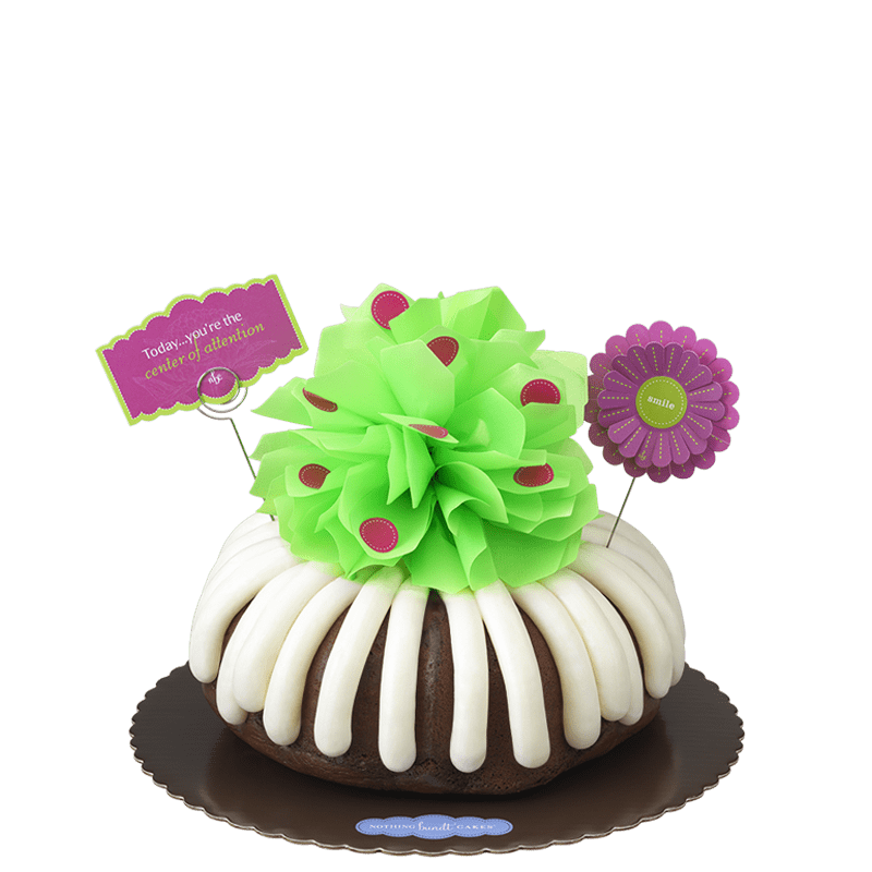 'Center' of Attention Bundt Cake