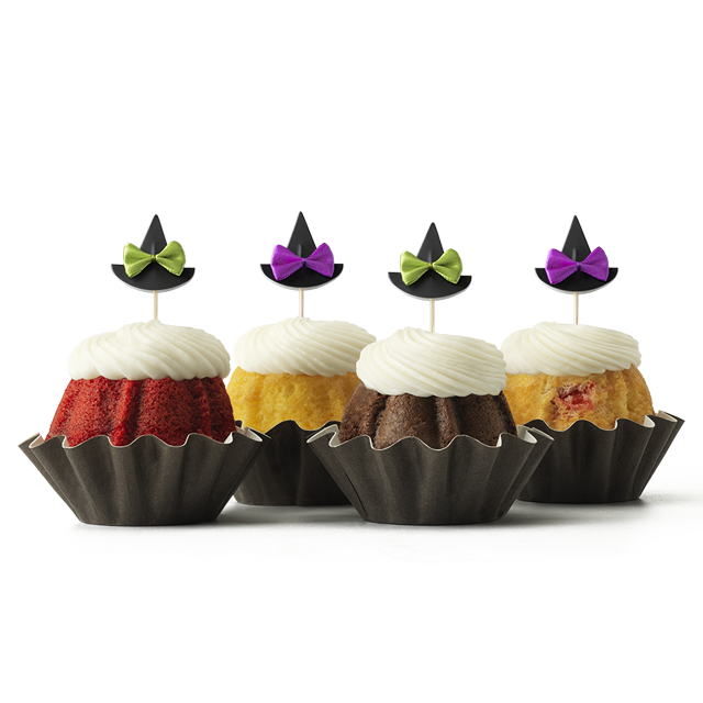 Witches' Hats Bundt Cake