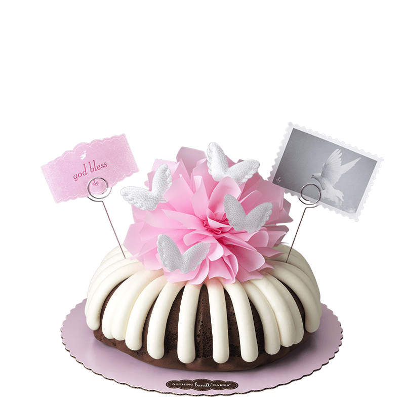 God Bless (Pink) Bundt Cake