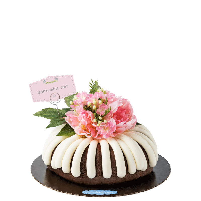 Yours, Mine, Ours Bundt Cake