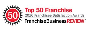2016 Top 50 Franchisee Satisfaction Award