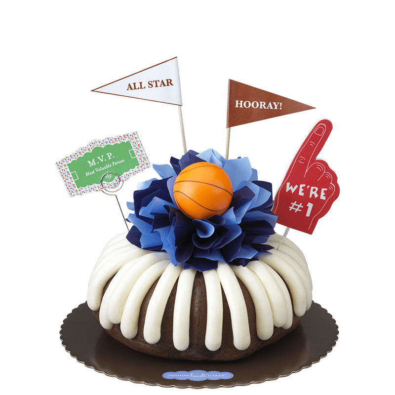 MVP - Basketball Bundt Cake