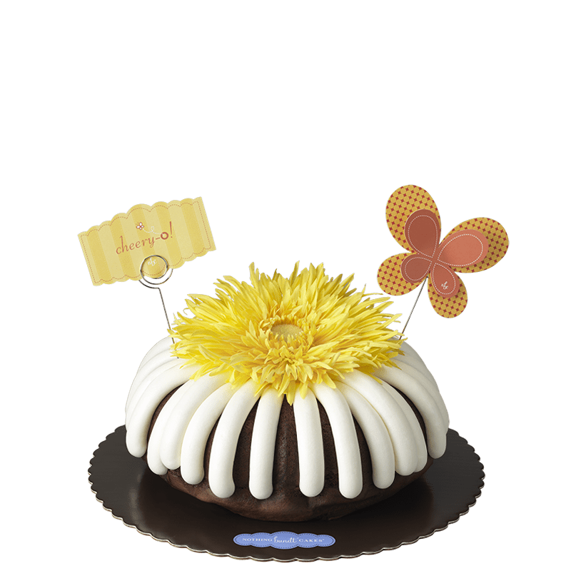 Cheery-O Bundt Cake